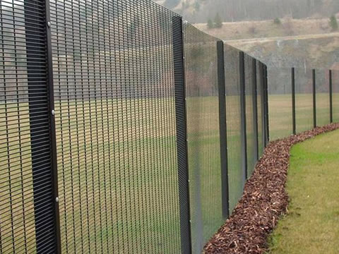 Welded Wire Security Fence for Prison, Airport, Railway Fencing