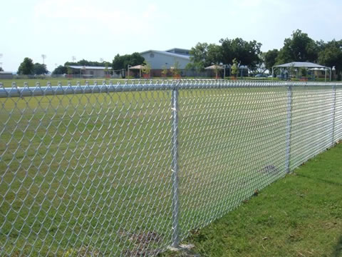 Various Chain Link Fence Types With Accessories Parts And
