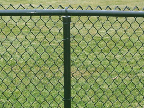 Various Chain Link Fence Types with Accessories, Parts and